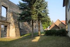 Kirchendenkmal am Morgen