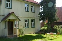 Hauseingang Pfarrhaus