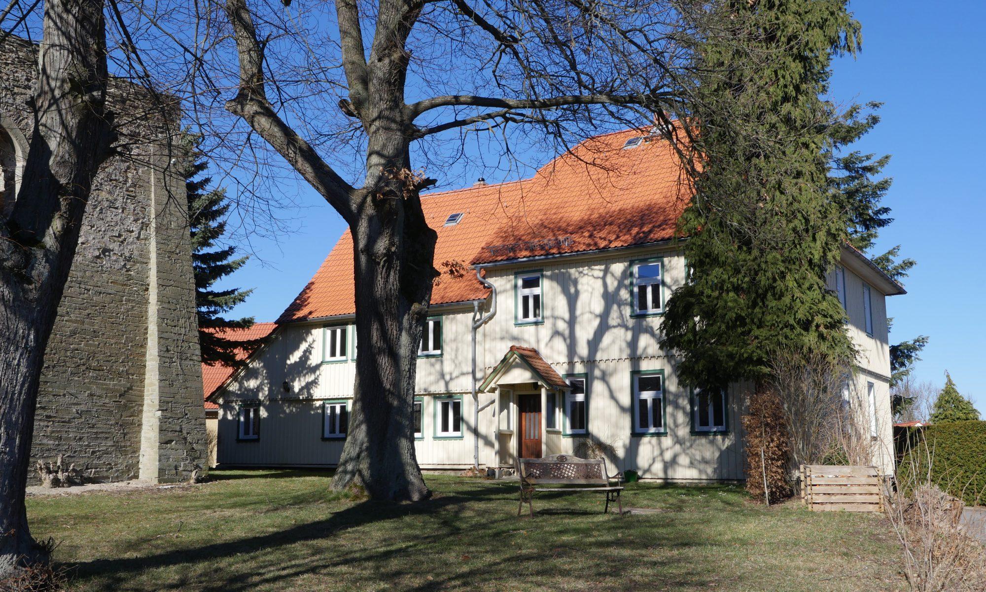 Pfarrhaus Hüttenrode